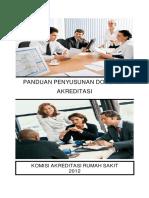 Buku Panduan Penyusunan Dokumen Akreditasi 2012