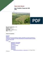 Proyecto Arqueológico Chinikihá