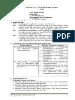 1 RPP Bab IV (Kekongruenan & Kesebangunan)