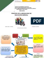 Mapa Mental Principio de La Educacion Especial