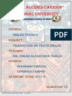 ECGM Texo Ingles y Texto Español