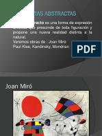 Obras abstractas