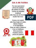 Poesia a Mi Patria