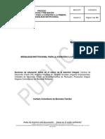 Manual Operativo de Modalidad Familiar