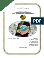 TRABAJO Tecnologías de Información y Comunicación y Su Legislacion