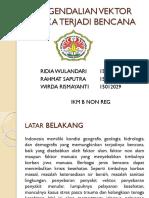 Pengendalian Vektor Pasca Bencana