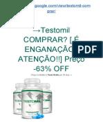 → Quais Benefícios das Cápsulas Testomil - Suplemento Sexual Natural?