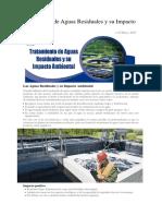 Tratamiento de aguas Residuales - PTAR