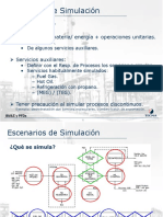 Escenarios de Simulacion