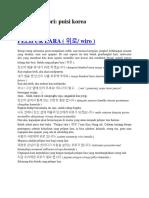 Arsip Kategori Puisi Korea