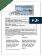 Vantagens Alternativas 1.1 - Espaço 3D&T