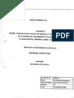 Memoria Técnica - Informe de Mecánica de Suelos