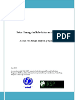 Research on Solar Power in Uganda, IRSP 2010