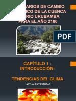 Cambio Climático de Urubamba
