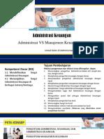 3.1 Administrasi vs Manajemen Keuangan