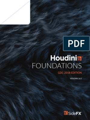 Houdini Foundations Gdc2018 | Menu (Computing) | Computer Graphics