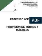 TORRES Y MASTILES