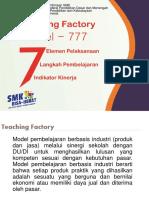 Teaching Factory 777 2018ok Mei