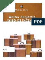 Lowy Michael. Walter Benjamin. Aviso De Incendio..pdf