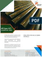 Brochure Pipa Baja Terbaik Bakrie API Spec 5 Ct