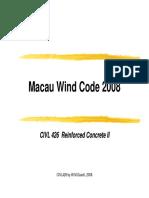 Macau Wind code