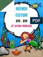 Agenda Miss Antonia