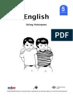 English 5 DLP 9 - Using antonyms.pdf