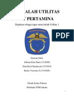 Utilitas Pt. Pertamina (Kelompok 4)