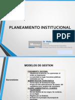 02.- PLANEAMIENTO INSTITUCIONAL