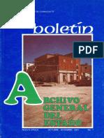 Boletín Archivo Historico de Guanajuato