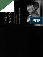 Maccari y Montiel Gestion Cultural Para El Desarrollo Parte 1