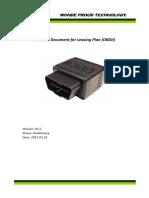Protocol Document for OT10 (OBDII) ITL FW Version V3.5 2017-03-23