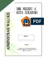 Administrasi Wali Kelas SMKN 4