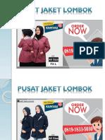 0819-1833-5030 | Produsen Jaket Muslimah Siap Kirim Ke Lembar Kabupaten Lombok
