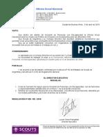 025-2018 Creacion Comision de Apoyo Para La Inclusion de Personas Con Discapacidad