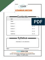 Physics - Rectilinear Motion.pdf