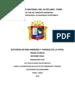Informe de Viaje Tuberosas