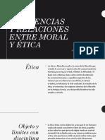 Diferencias y relaciones entre moral y ética