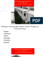 WA 085725142100,Harga Water Heater Panas Ac,Aircon Water Heater Jakarta