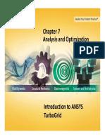 TG-Intro 14.0 L07 Analysis and Optimization