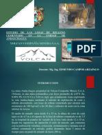 2018 Exposicion de Relleno Cementado en Andaychagua