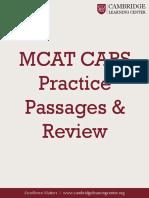 MCAT+CARS+Practice+Passages+&+Review