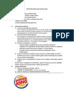 Burger King Brief