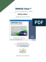 Lakes Aermod View Release Notes