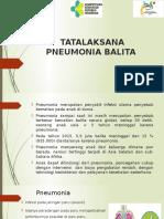 Tatalaksana Pneumonia 2017