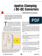 Nondissipative Clamping Benefits DC-DC Converters