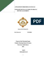 Metode Cawan Kuadran & Metode Agar Miring