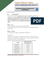 10.4. Especificaciones Tecnicas de Materiales Agua