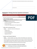 Top 100 Automation Testing Interview Questions - Most Automation Testing Interview Questions and Answers _ Wisdom Jobs