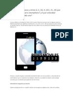 Iconos y letras en smartphones